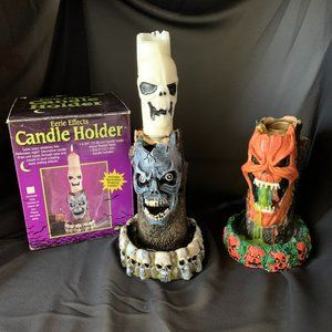 3/$25🎈 Eerie Effects Candle Holders
